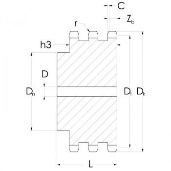 DIV-C45-KR12B-3-Z050