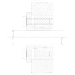 KLBB016x55-BZP - Locking...